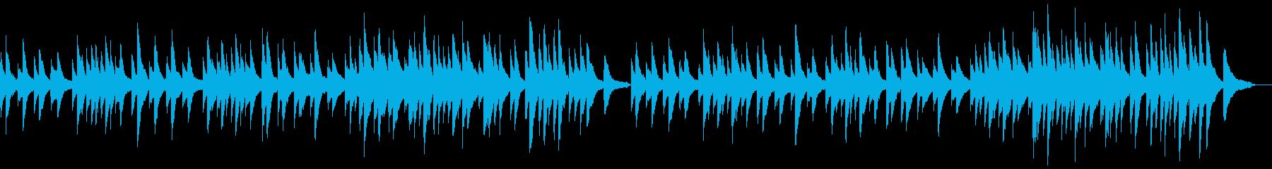 サティ ジムノペディ 1番の再生済みの波形
