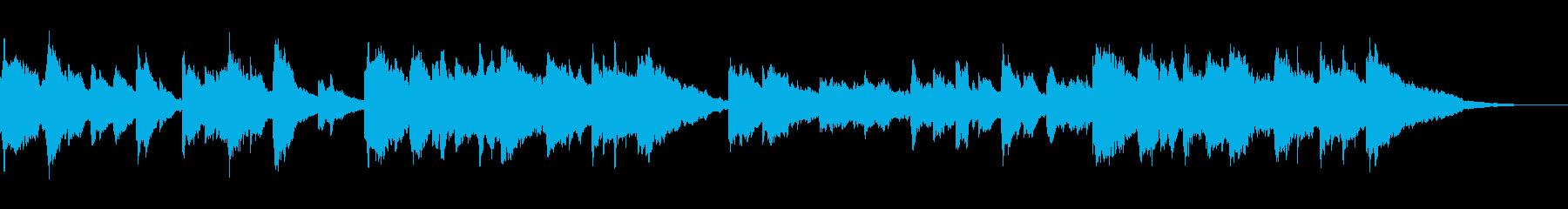 優しい・暖かい・懐かしい・和風サウンドの再生済みの波形