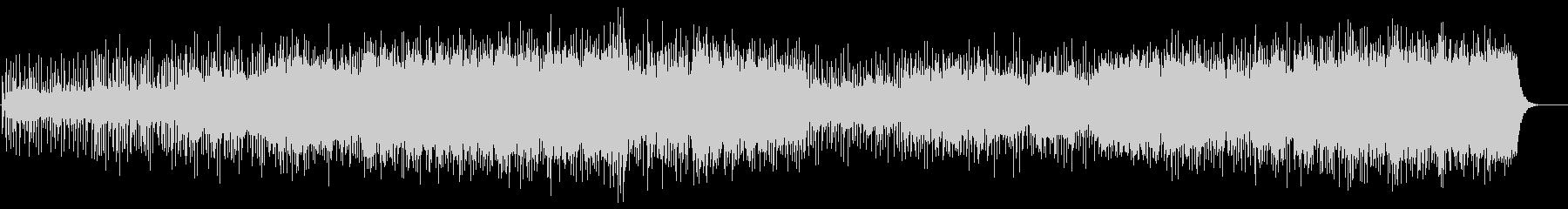 紀行向けBGM(遥かなる大地)の未再生の波形