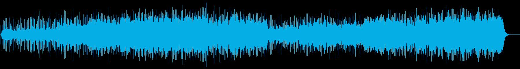 紀行向けBGM(遥かなる大地)の再生済みの波形