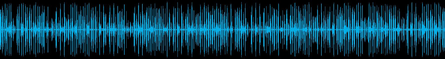 スペースエイジモースコード、ファー...の再生済みの波形