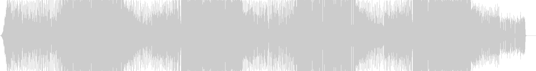 Kawaii Popの未再生の波形