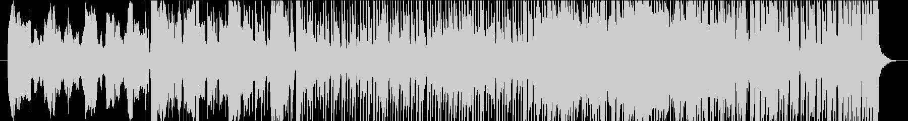 不思議なリズムのSaxポップロックの未再生の波形