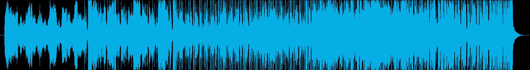 不思議なリズムのSaxポップロックの再生済みの波形