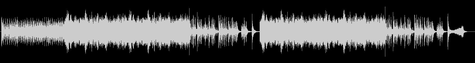 フルートの旋律が印象的な劇音楽向けの曲の未再生の波形