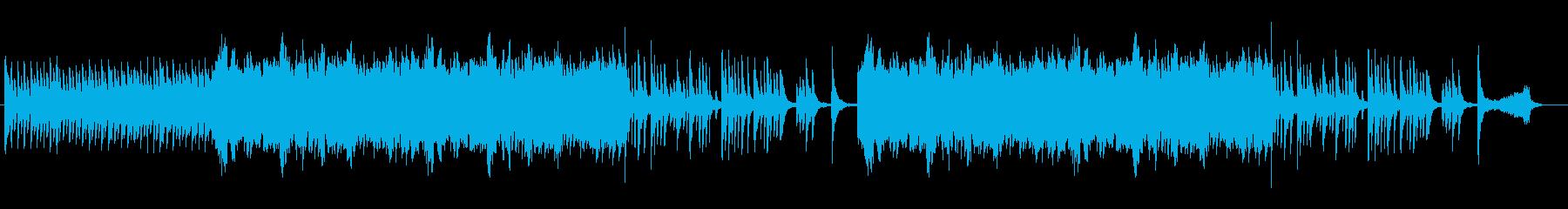 フルートの旋律が印象的な劇音楽向けの曲の再生済みの波形