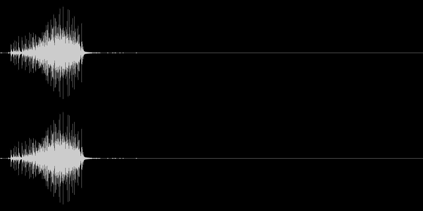ベリ(テープ等)の未再生の波形