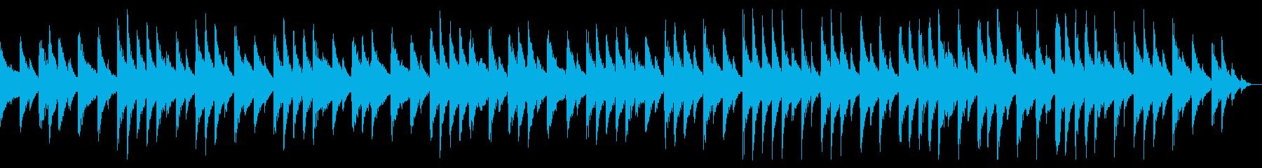 【ループ】事件、ニュース、報道用BGMの再生済みの波形