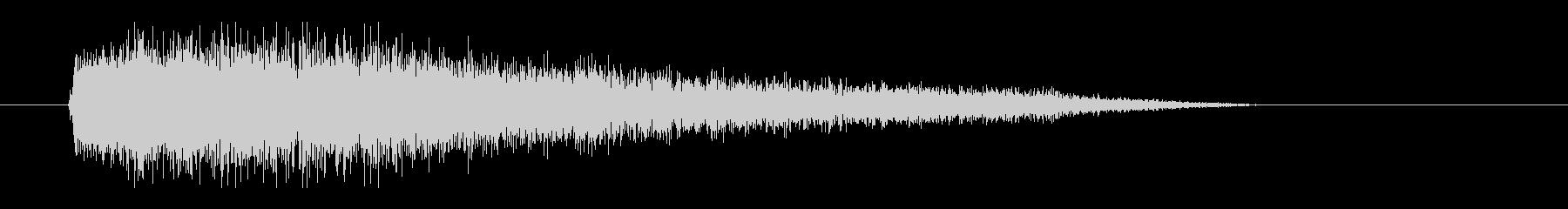 レーザー音-93-3の未再生の波形