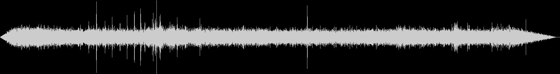 【生録音】工事現場の音 重機 2の未再生の波形