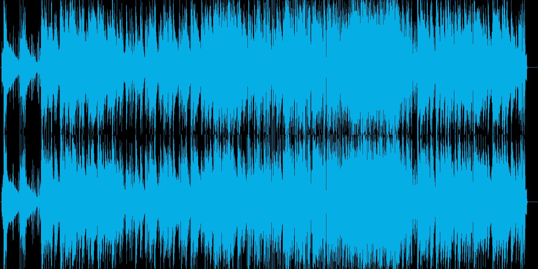 たなばたさまのジャズピアノトリオの再生済みの波形