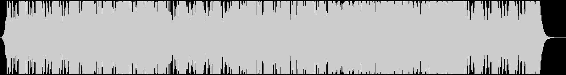 ハイブリッドオーケストラの戦闘曲の未再生の波形