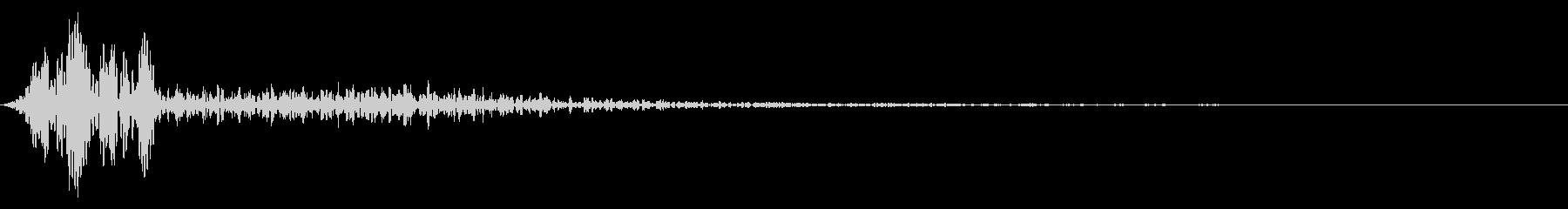 スチールグロール、キックサブヒット...の未再生の波形