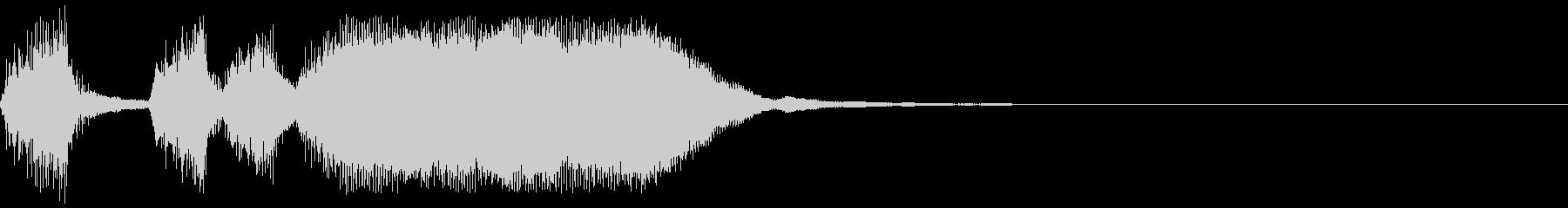 シンプルなファンファーレ6の未再生の波形