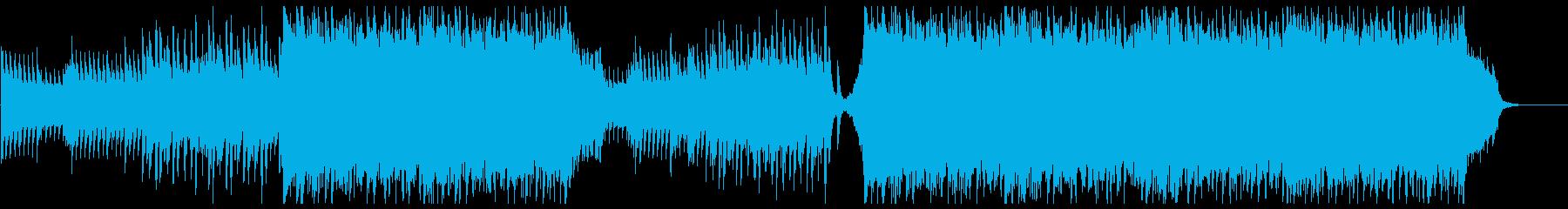 ドラマチック/壮大で感動的なオーケストラの再生済みの波形