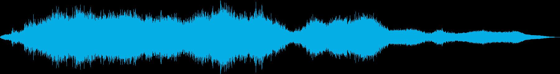 液体テクスチャと遅延を伴うプラズマ...の再生済みの波形