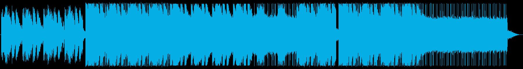 おしゃれでクールなチルアウトの再生済みの波形