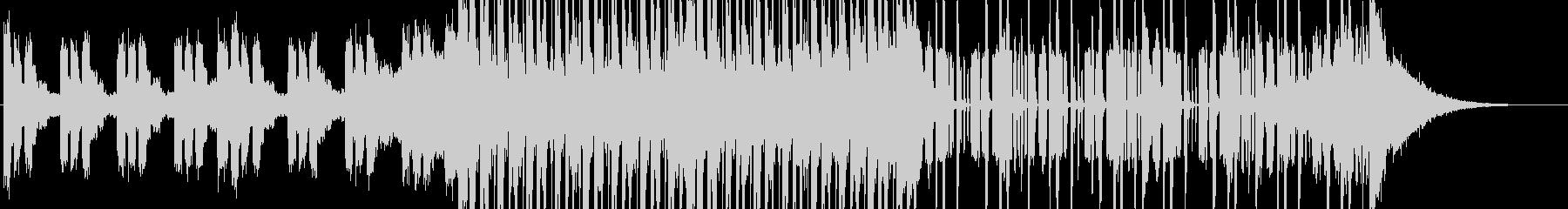 シンセ主体なエレクトロミュージックの未再生の波形