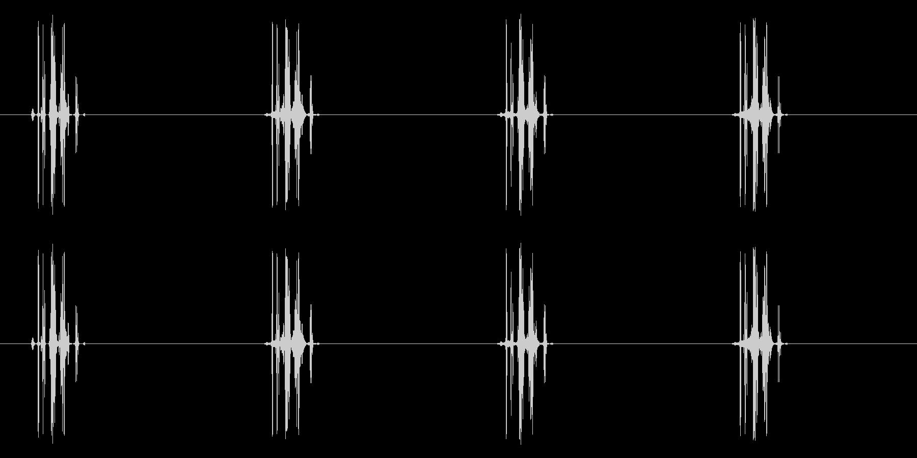 吸う/ジュッ/ゴクッ/吸血_ループ可の未再生の波形