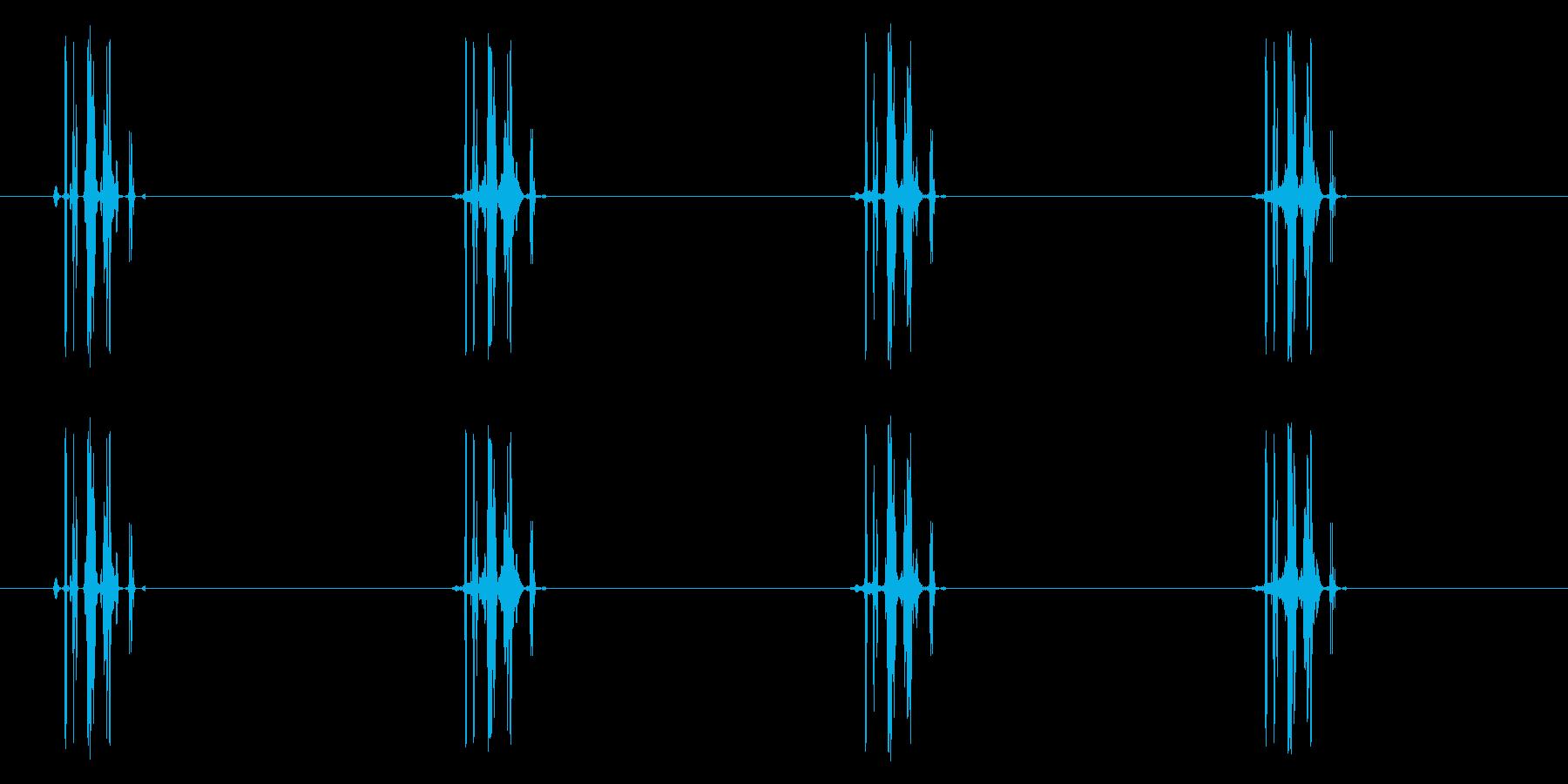 吸う/ジュッ/ゴクッ/吸血_ループ可の再生済みの波形