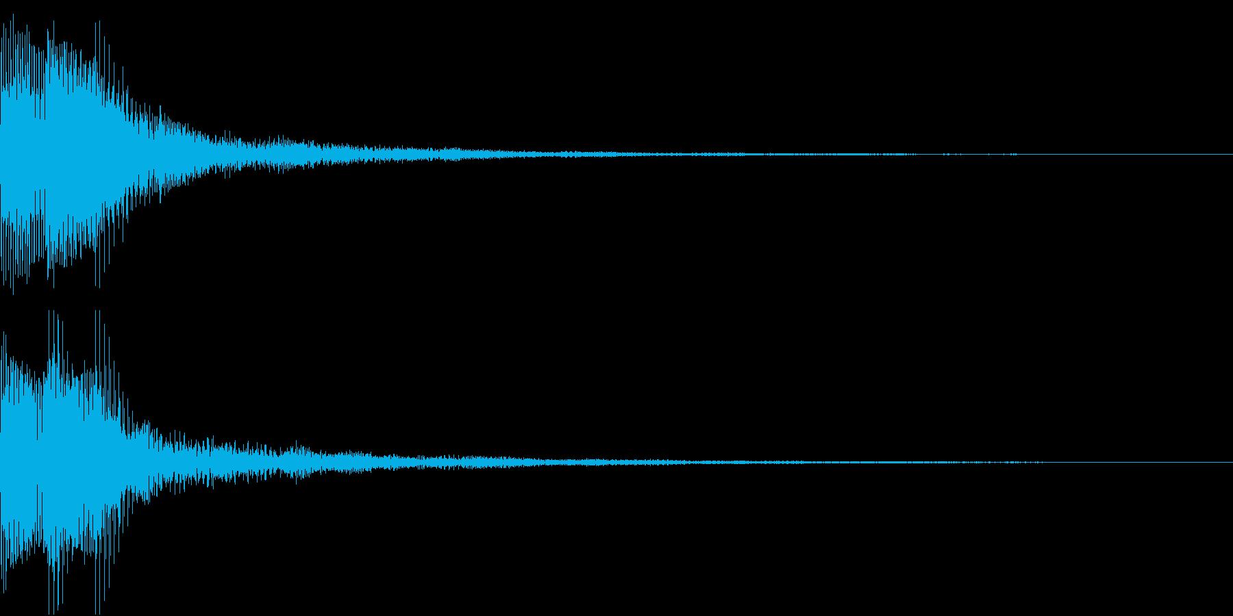 Moog ファットなコマンド音 2の再生済みの波形