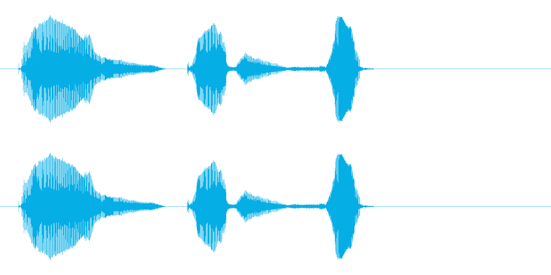 あいこでしょ(可愛い系)_1の再生済みの波形