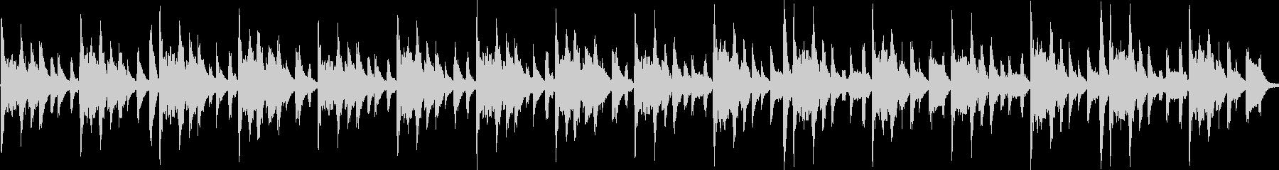 木琴メインかわいいシンキングタイムBGMの未再生の波形