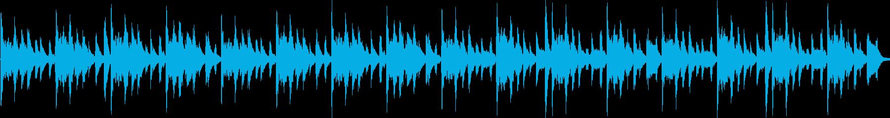 木琴メインかわいいシンキングタイムBGMの再生済みの波形