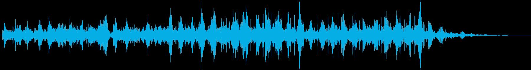 ブクブク…(液体・ドロドロイメージ)の再生済みの波形