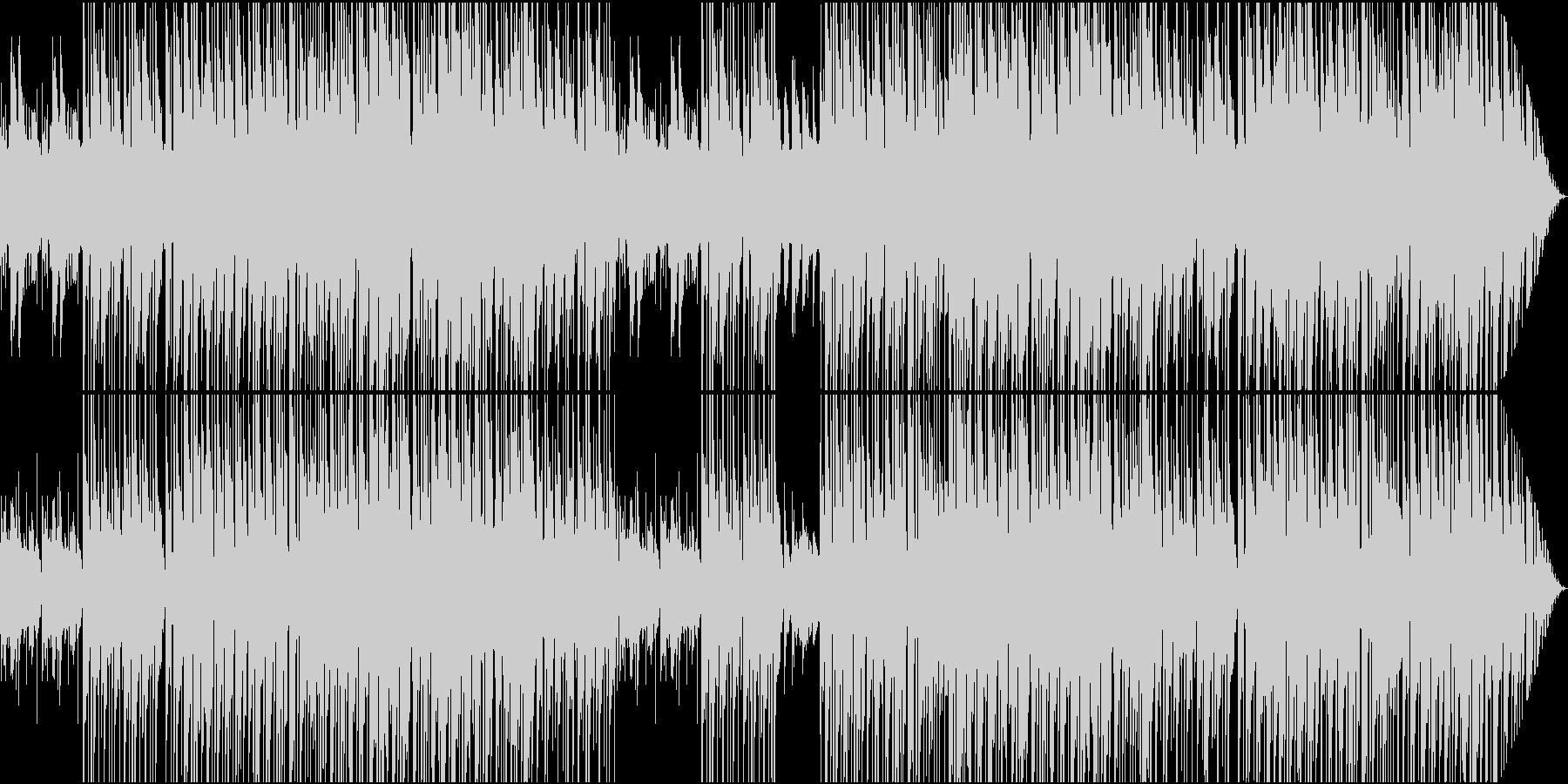 リラック系静かなバラードジャズメロ無しの未再生の波形