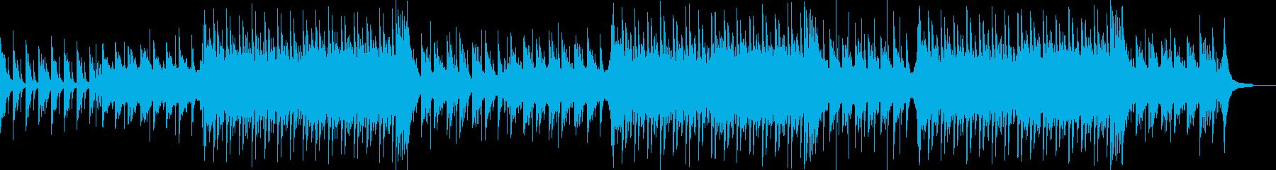 感動的でドラマティックな和風楽曲/BGMの再生済みの波形