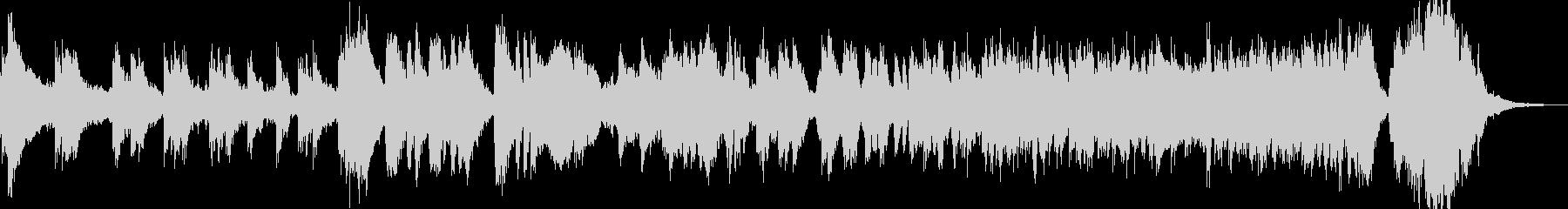 メリハリ 打楽器 金管楽器の未再生の波形