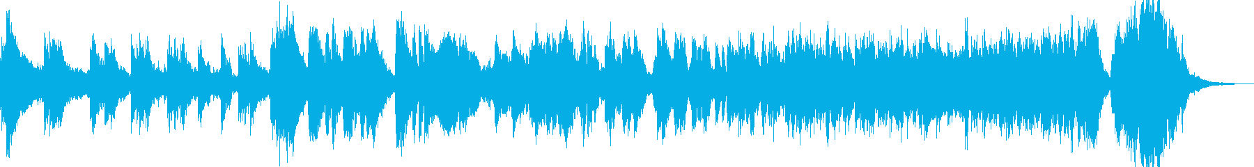 メリハリ 打楽器 金管楽器の再生済みの波形