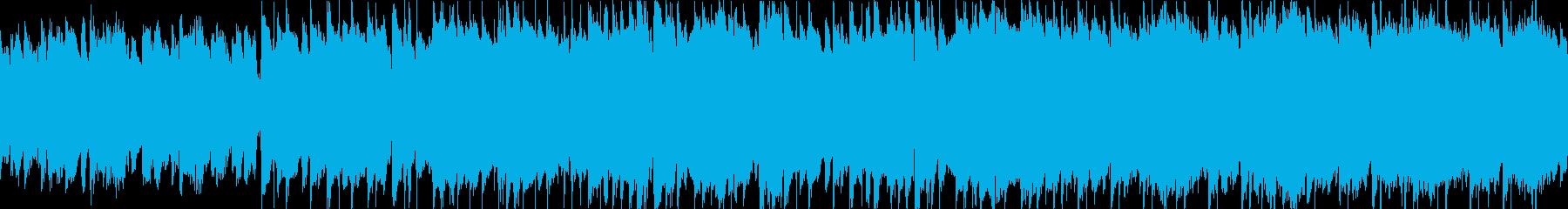 荒野を走る ループ 生演奏の再生済みの波形