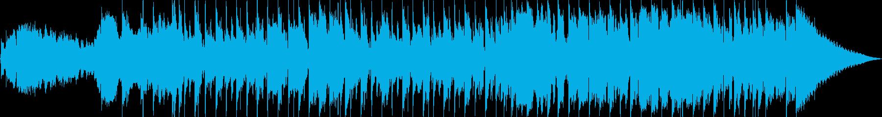 のんびりした響きがおしゃれなメロディーの再生済みの波形