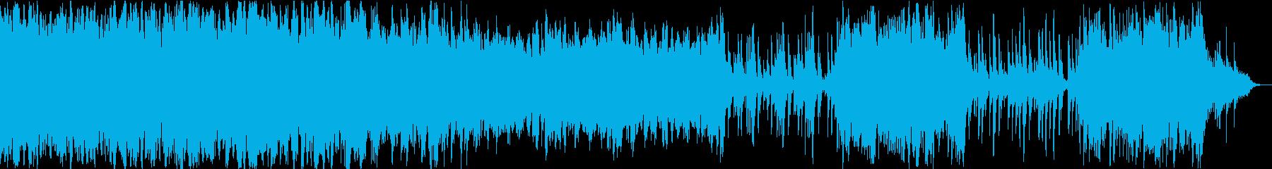 臨場感があり心が落ち着くチル系ハウス3の再生済みの波形