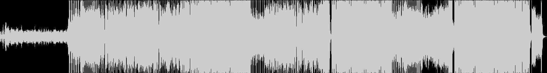 ポップでキャッチーな中華曲の未再生の波形