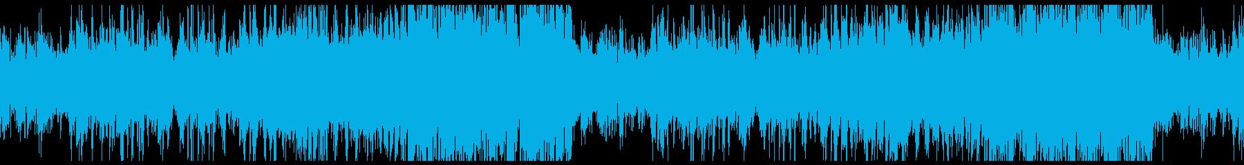 FF・ピアノニューコンテニューループの再生済みの波形