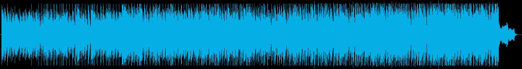 不安と緊張感のあるエレクトロの再生済みの波形