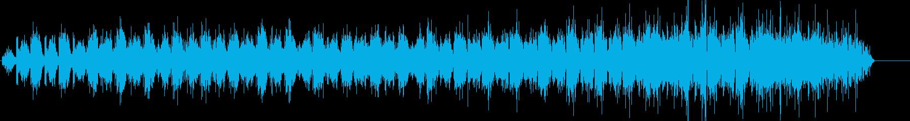 和風をイメージして作りました。の再生済みの波形