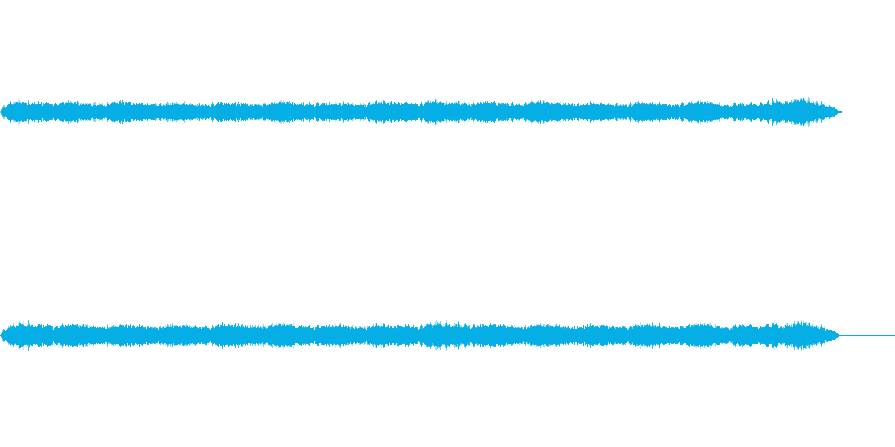 16小節というとても短い曲ですが、ド…の再生済みの波形