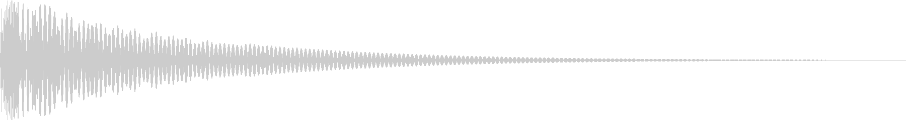 DTM Tom 30 オリジナル音源の未再生の波形