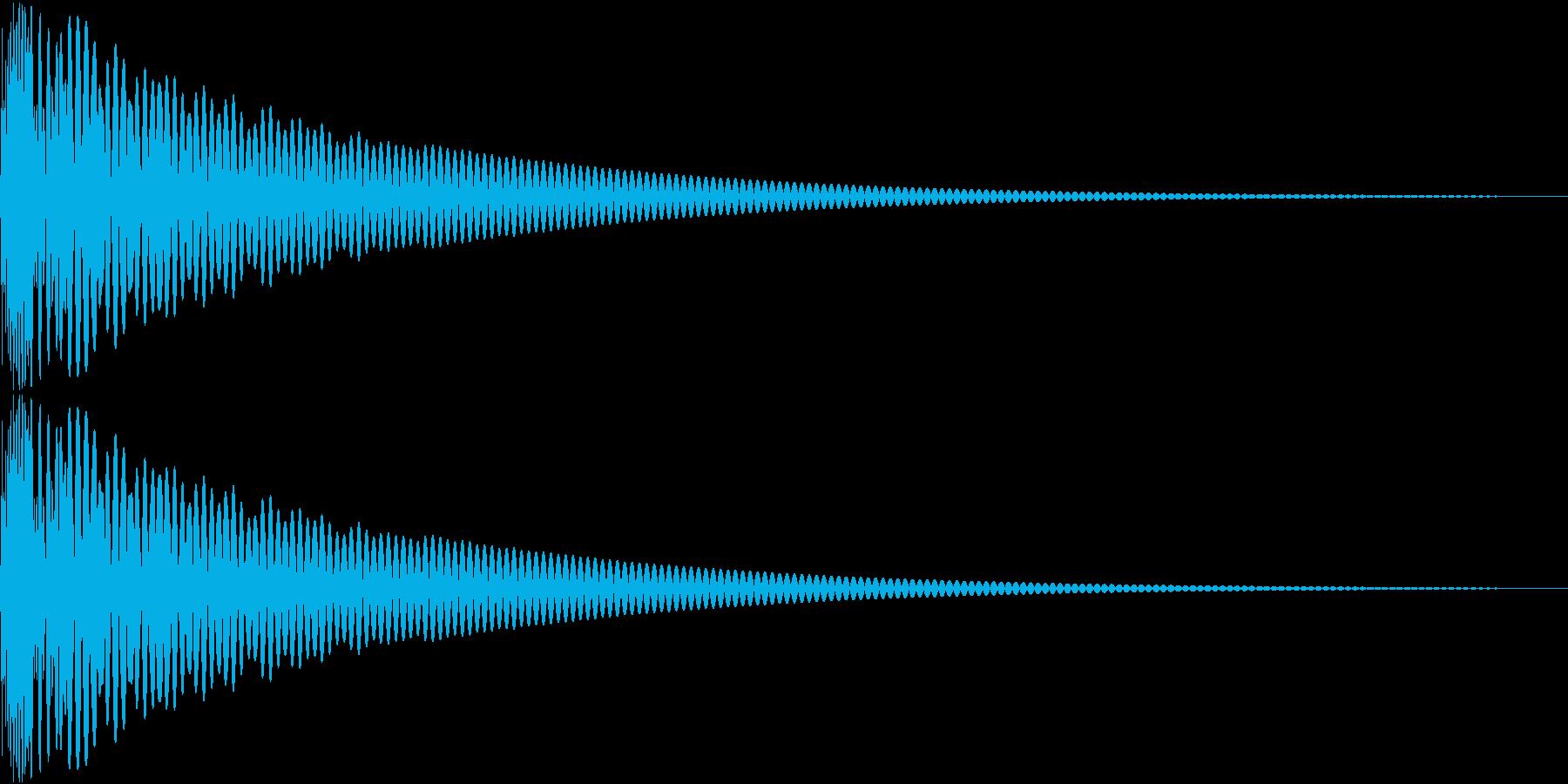 DTM Tom 30 オリジナル音源の再生済みの波形