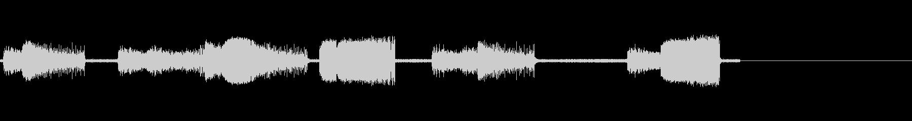 レーザー、アーケード4の未再生の波形