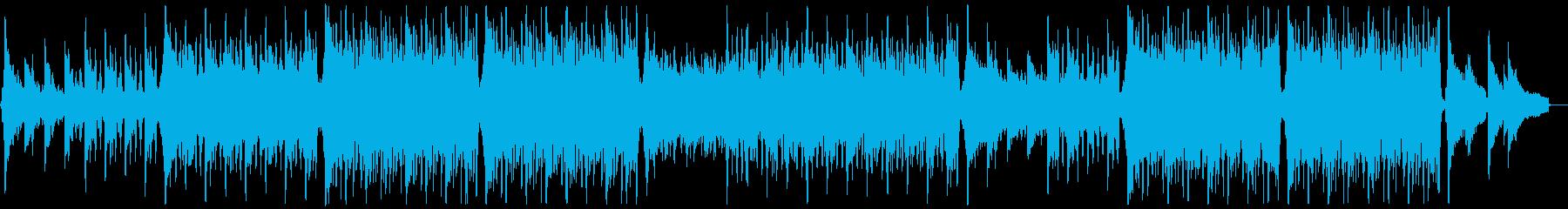 明るく前向きなトロピカルハウスメロディ抜の再生済みの波形