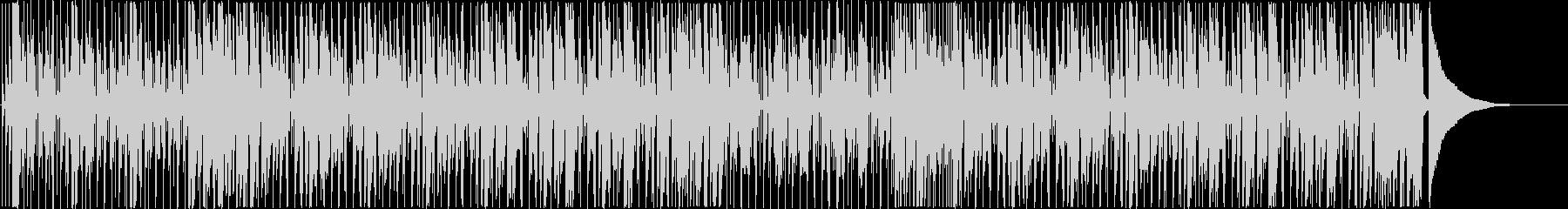 ラジオ・広告・動画/盛り上がる ファンクの未再生の波形