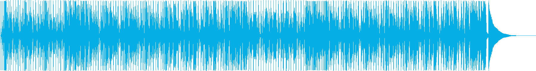 ラジオ・広告・動画/盛り上がる ファンクの再生済みの波形