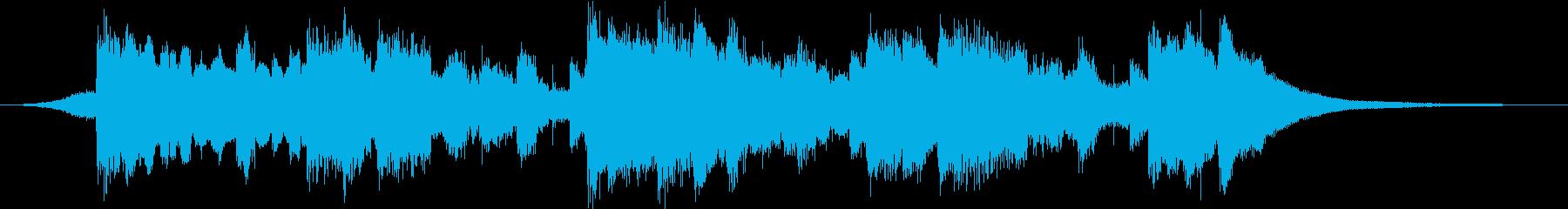 安心エンディングジングル・温かい・温もりの再生済みの波形