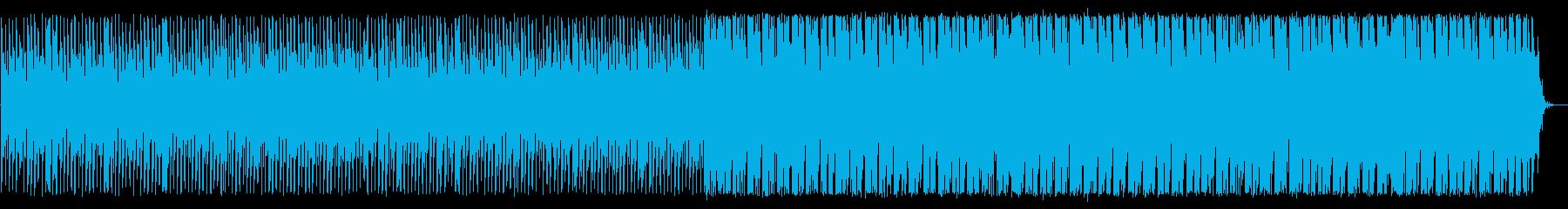 神聖で緩やかなスピリチュアルリフサウンドの再生済みの波形