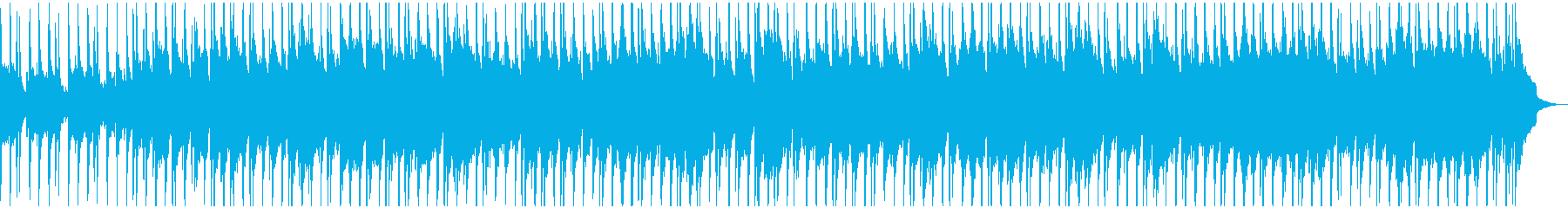 ウクレレ、ハンドクラップ、ピアノ、...の再生済みの波形